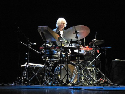 kompromisslos abstrakt - Der legendäre Jazz-Drummer Tony Oxley live in Darmstadt